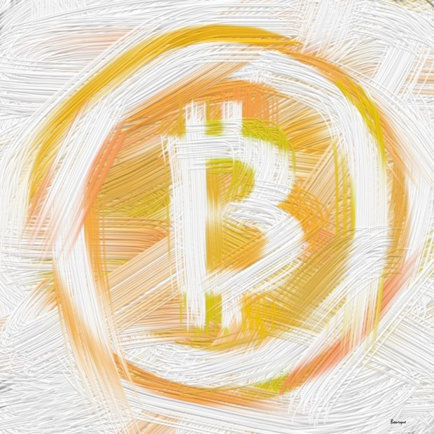 "Art entitled ""The Art of Bitcoin"""