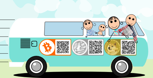 "Family of four goes on ""Uncoinventional"" journey across the US using only Bitcoin"