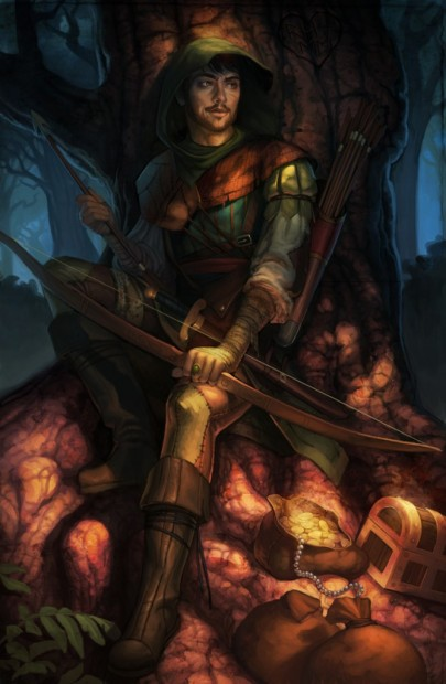 Robin_Hood_by_tattereddreams