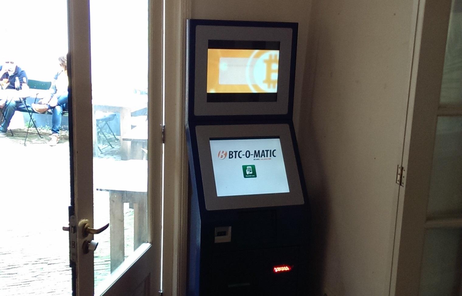 New BTC-O-MATIC vending machine arrives in Amsterdam