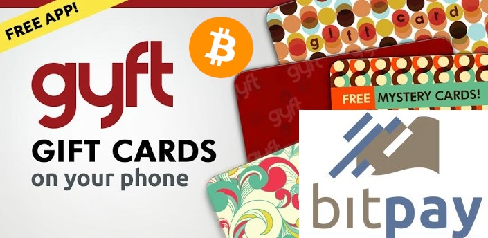 BitPay:Gyft Partnership