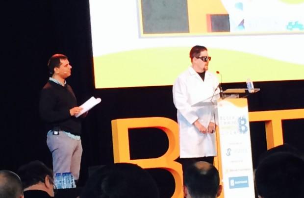 Satoshi Accepts first Blockchain Award for