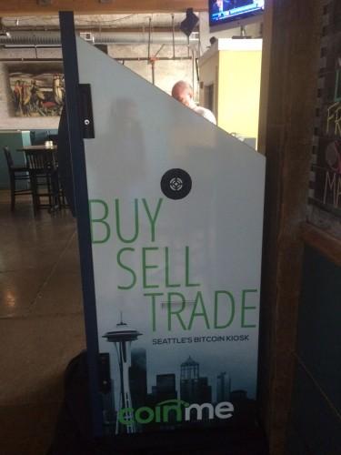 Coinme Robocoin Bitcoin ATM Seattle