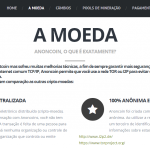 Anoncoin.com.br – ANC launches website in Brazilian Portuguese